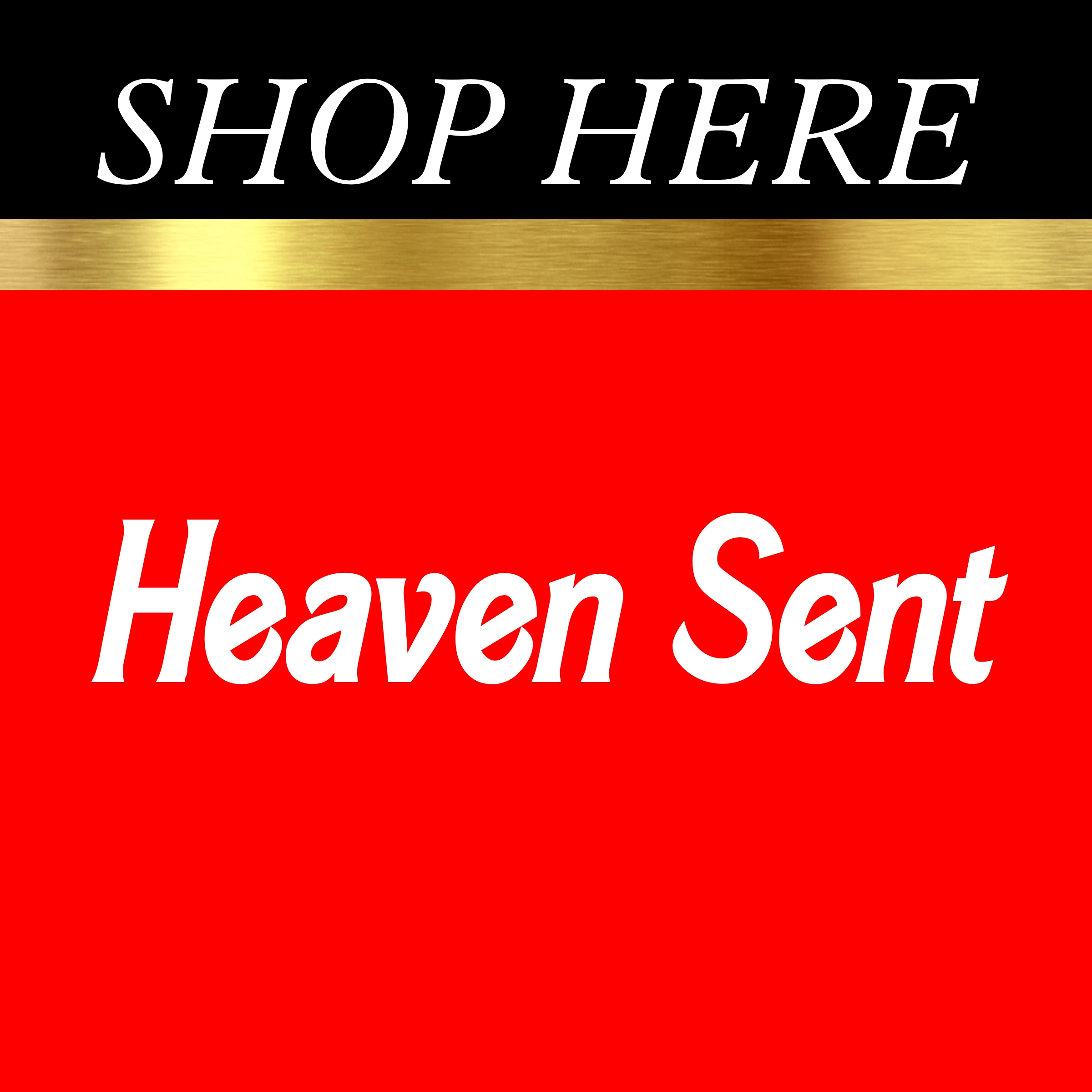 Heaven Sent Table Signs