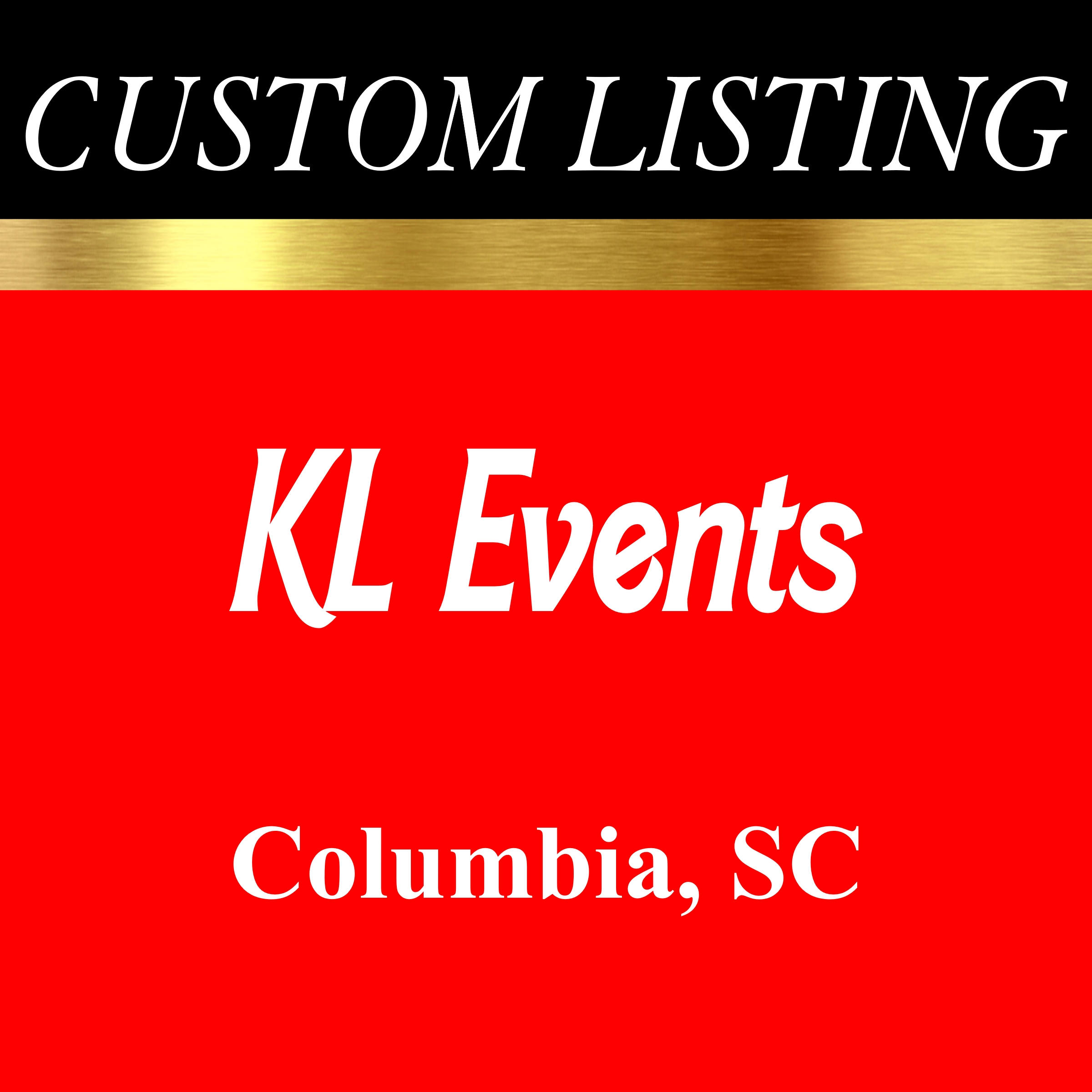 KL EVENTS