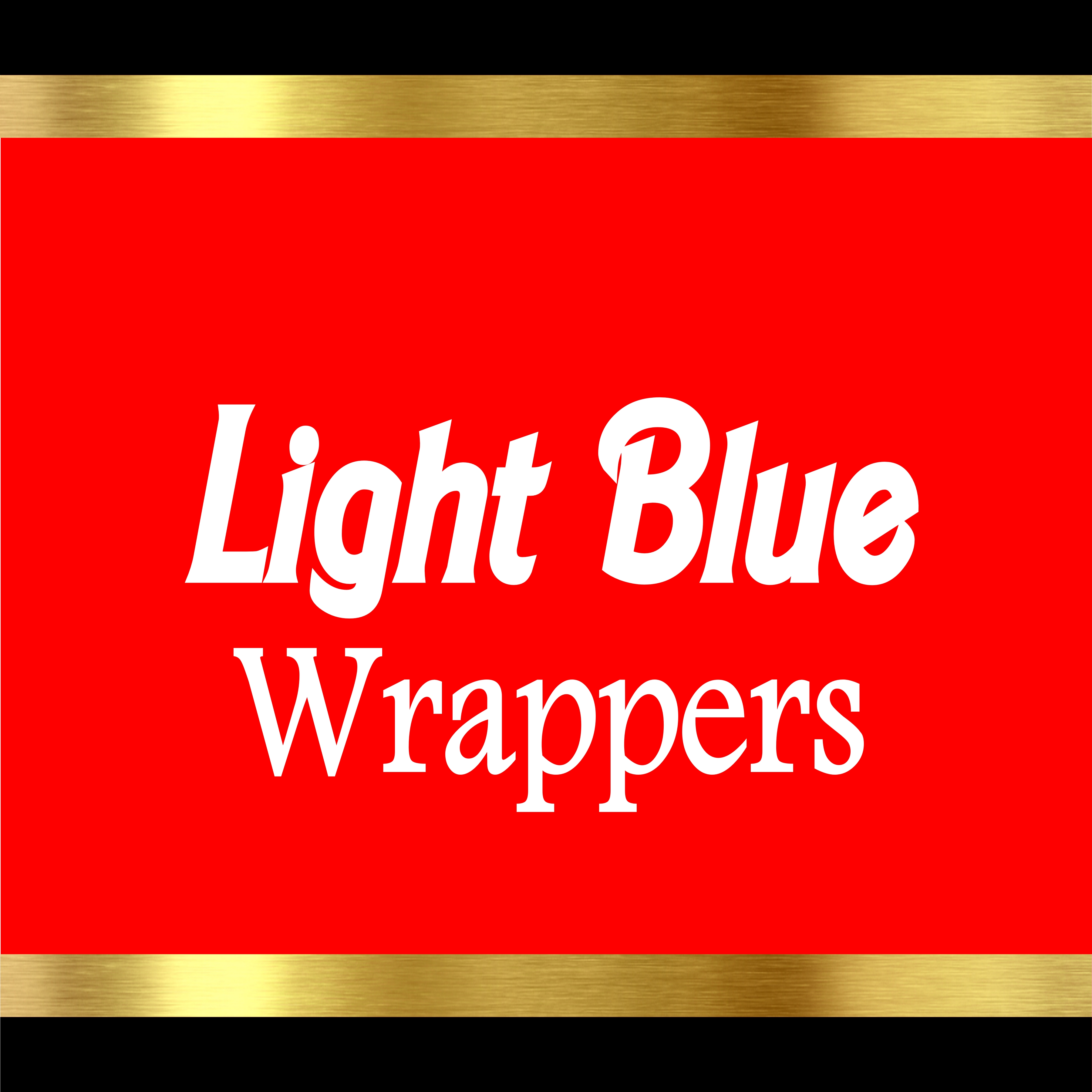 Light Blue Wrappers