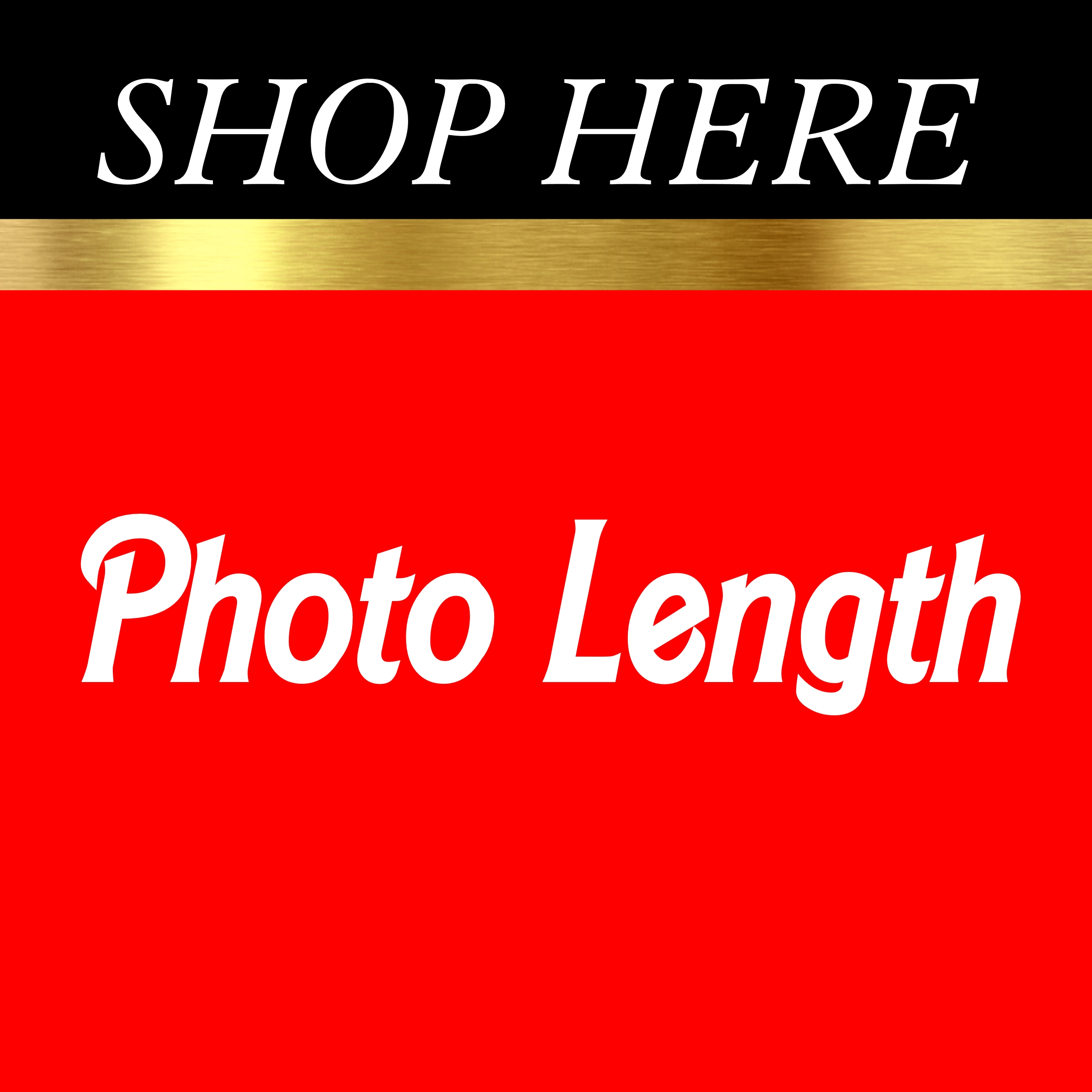 Photo Length Backdrops