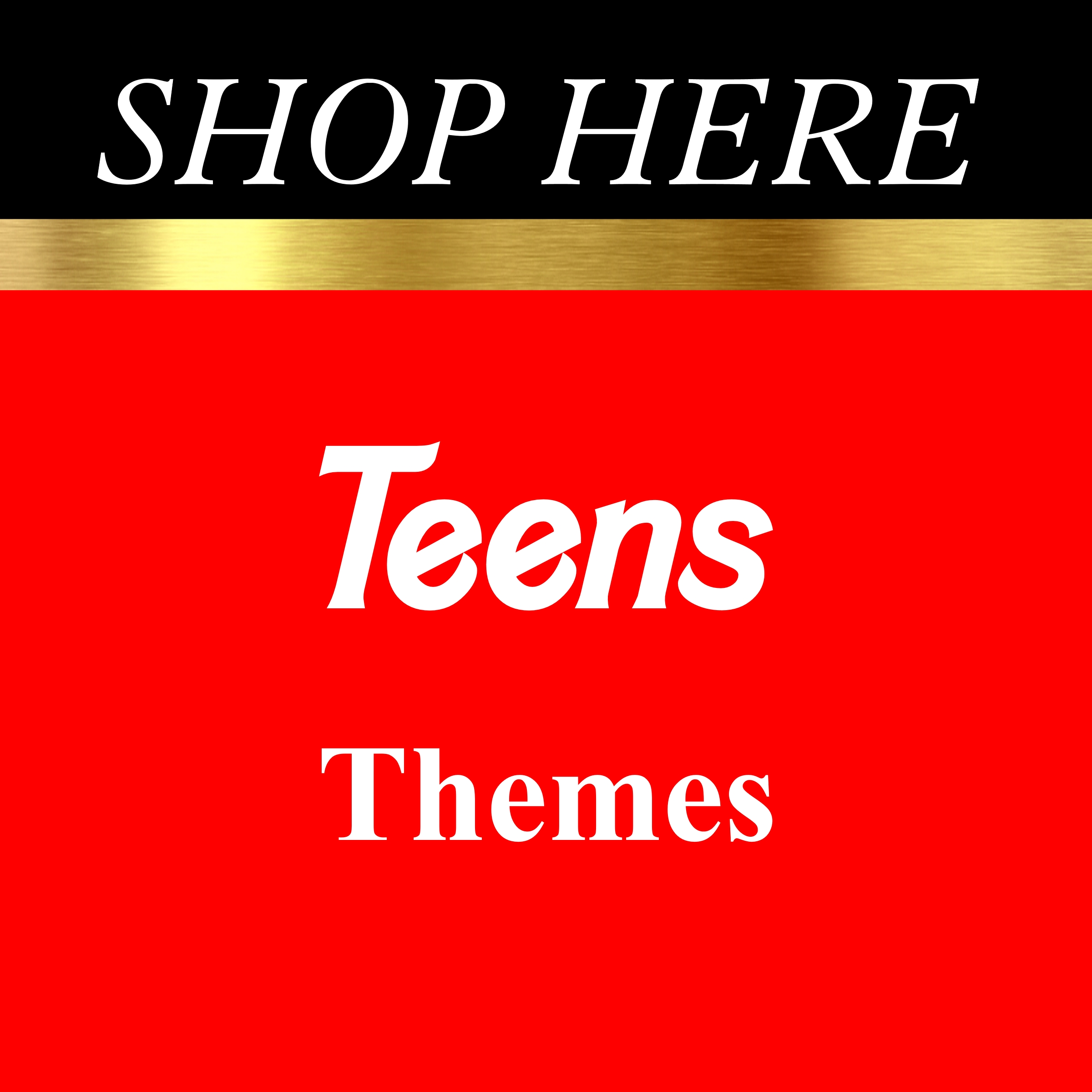 Teens Party Themes