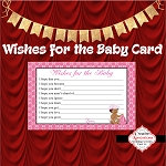 Gucci Baby Sitting in Pink Advice Card