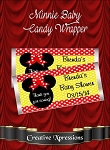 Minnie Baby Candy Wrapper