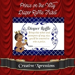 Royal Prince on the Way Diaper Raffle