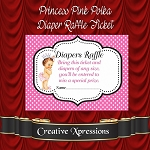 Princess Pink Diaper Raffle