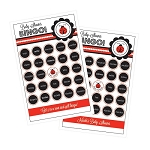 Ladybug Party Bingo (set of 16)