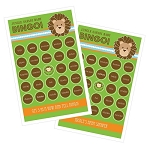 Jungle Safari Bingo (set of 16)