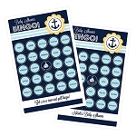 Nautical Baby Shower Bingo (set of 16)