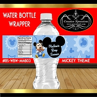 Mickey Surprise Baby Shower Wrapper