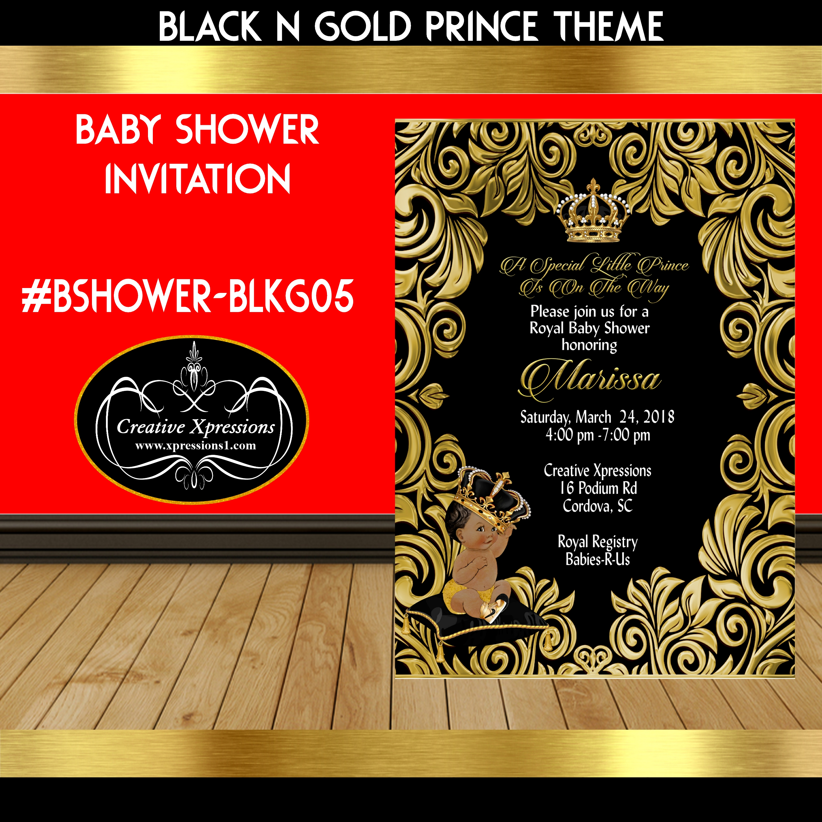 Awesome Royal Baby Shower Invitations Sketch - Invitations and ...