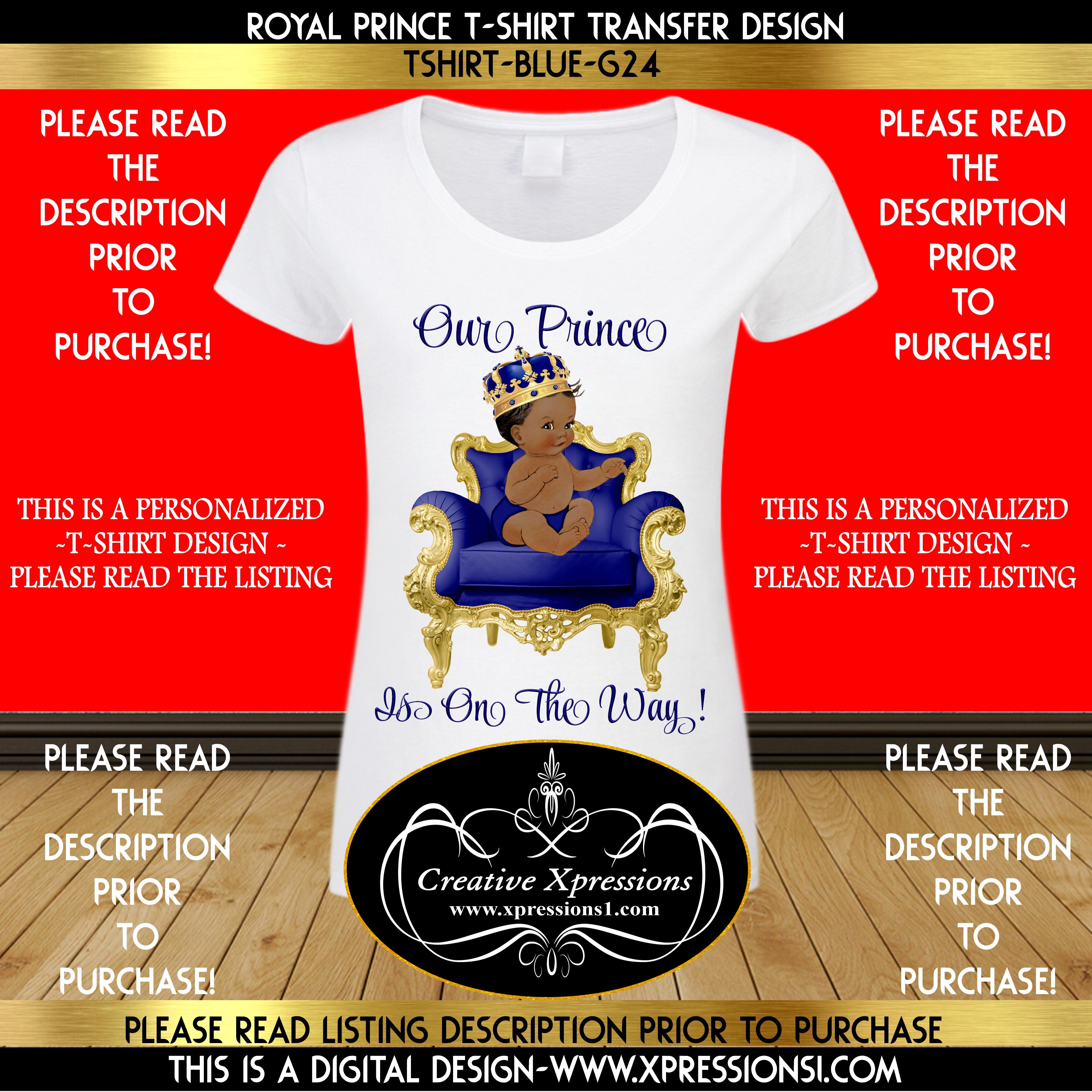 Royal Prince Tshirt