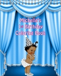 The Birthday Girl Coloring Book