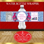 Blue Glitter Birthday Troll Wrapper