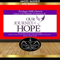 Journey of Hope in Purple Banner