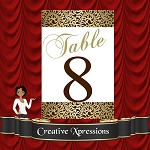 The Renee Table Number Package