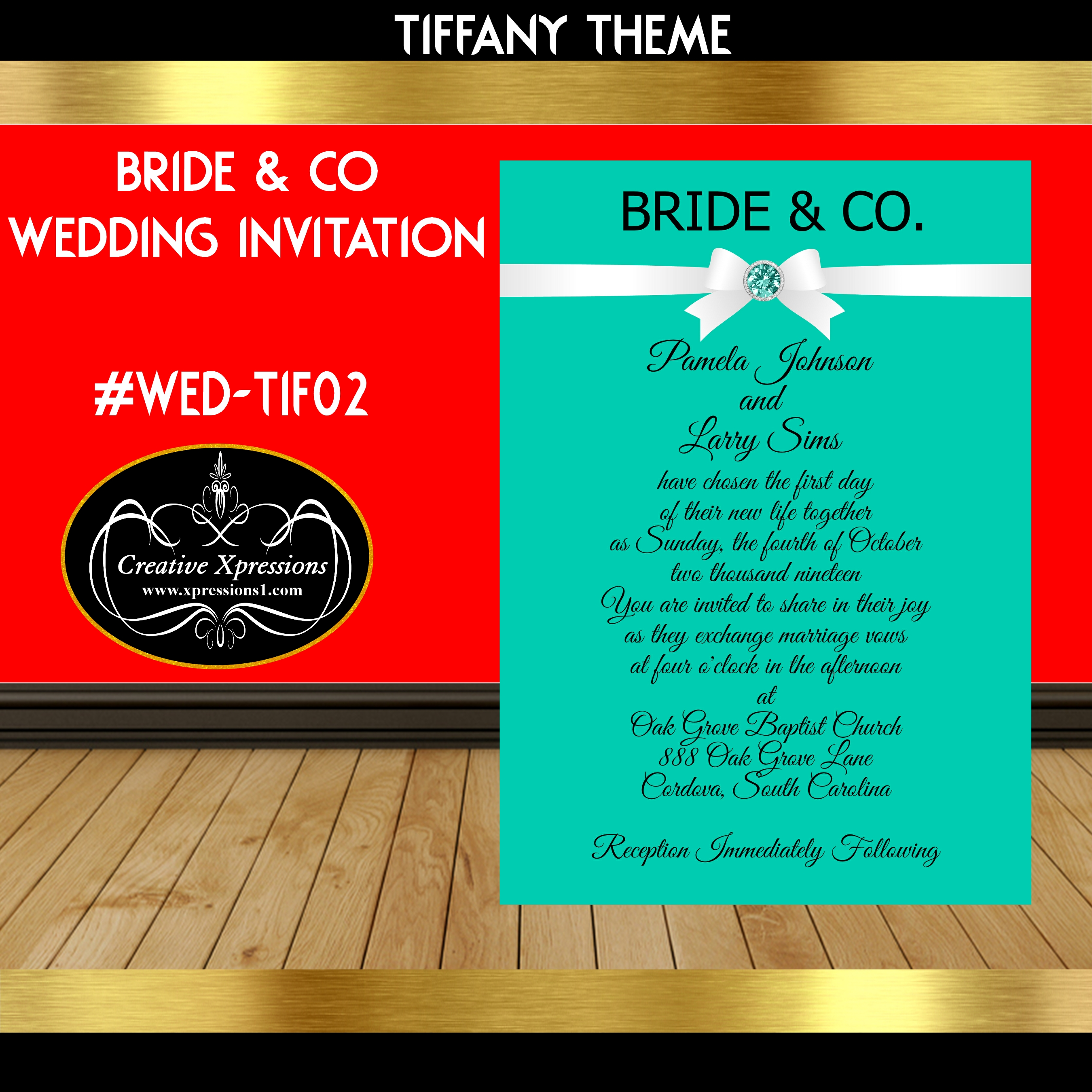 Luxury Tiffany And Co Wedding Invitations Pattern - Invitation Card ...