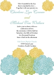 Beautiful Florals Wedding Invitation