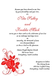 A Red Rose Wedding Invitation