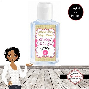 Gold Glitter Oh Baby Hand Sanitizer (COPY)