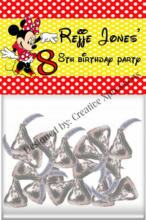 Minnie Age Topper