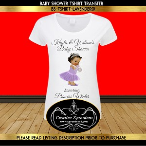 fc9124355bf07 Little Lady in Lavender in Slippers T-shirt Design