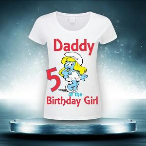 Thumbnailaspfileassets Images Children Birthday Backdrops Smurfs Smurf Tst02 Smurfette With Numbermaxx300maxy0